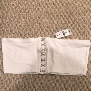 Emma and Sam white top/bra from LF. NWT.
